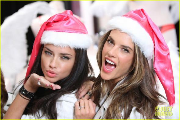 Weihnachtsmannmütze - (Weihnachten, Victorias Secret, Weihnachtsmannmütze)