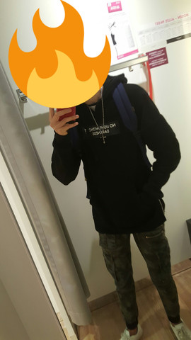 Pullover - (Mode, Style, black)