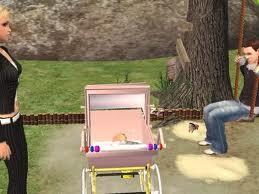 der kinderwagen - (Google, Sims 2, Kinderwagen)