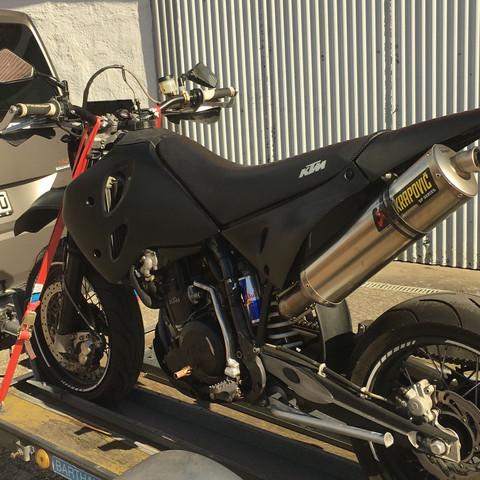 Meine Lc4  - (Motorrad, Motor, Deko)
