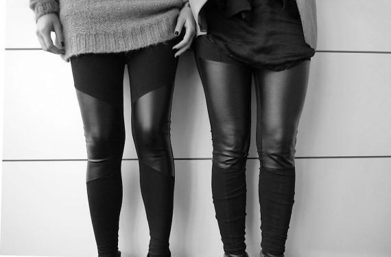 wo finde ich eine leggings mit ledereinsatz beauty mode. Black Bedroom Furniture Sets. Home Design Ideas