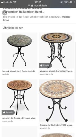 Wo finde ich einen Tisch, um ihn mit Mosaik zu füllen?
