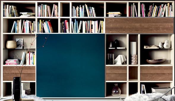Gerne in der gleichen Farbkombi wie diese Hülsta Wohnwand - (wohnen, günstig, Möbel)