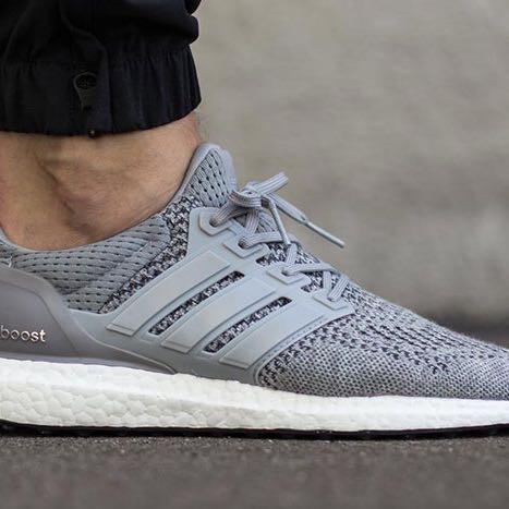 Adidas Ultra Boost Herren Grau