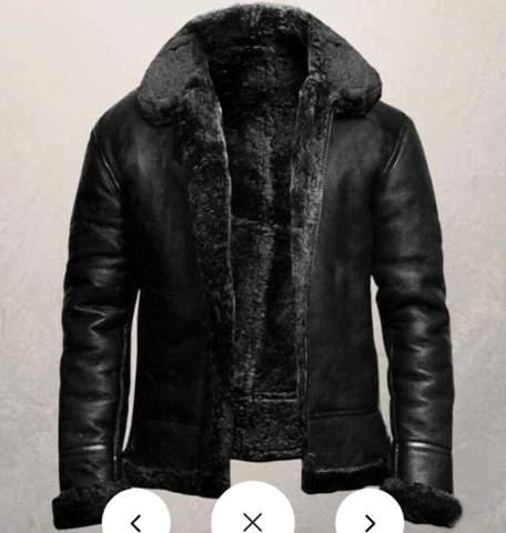 Wo finde ich so eine Fell-Lederjacke?