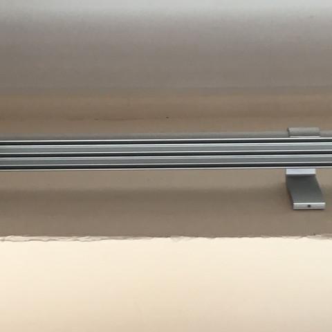 Hier das Schiebesystem - (Gardinen, Vorhang, Schiebesystem)