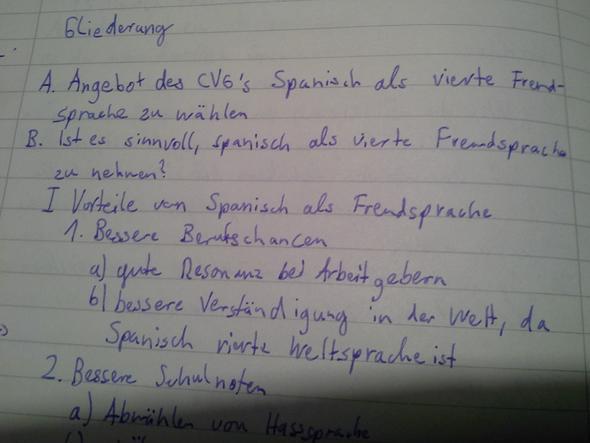 das heft wo die themafrage im hauptteil steht schule deutsch errterung - Erorterung Gliederung Beispiel