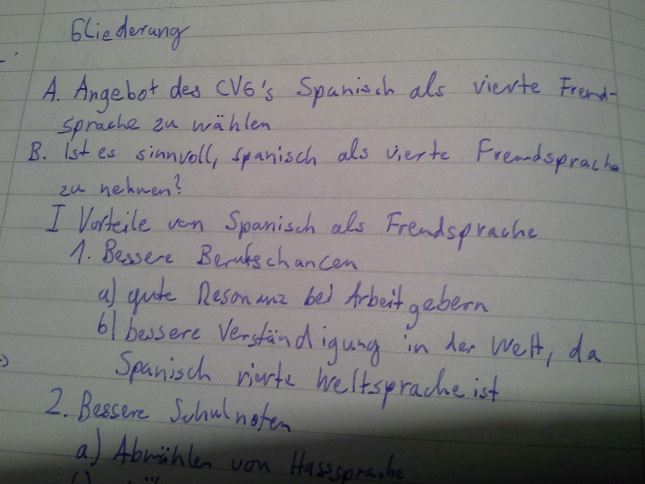 wo gehrt die themafrage bei einer errterung hin schule deutsch aufsatz - Gliederung Errterung Muster