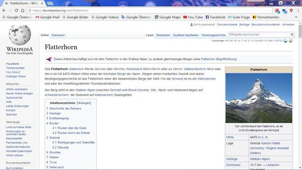 Flatterhorn by Wikipedia - (Schweiz, Geografie)