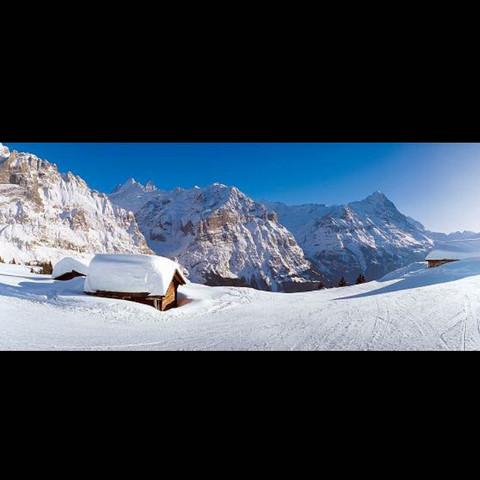 Wo gib's eine einsame Hütte wo garantiert sehr viel Schnee liegt?