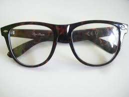 ray ban nerd brille braun