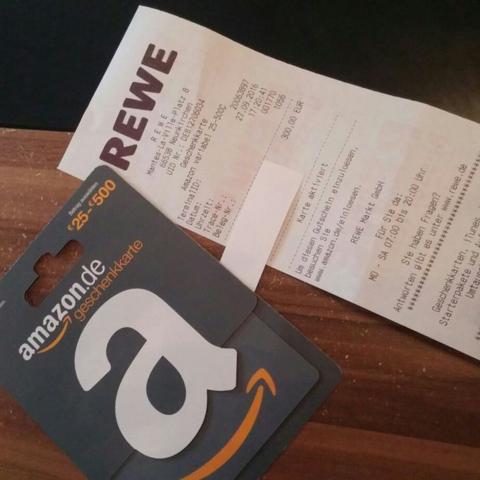 Amazon Gutschein Bei Rewe