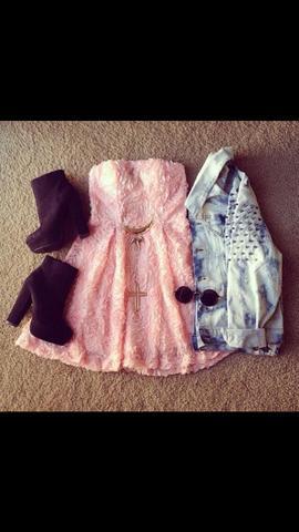 Kleid - (Schuhe, Kleid)
