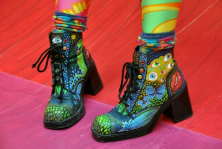 80's - (Mode, Schuhe, Fashion)