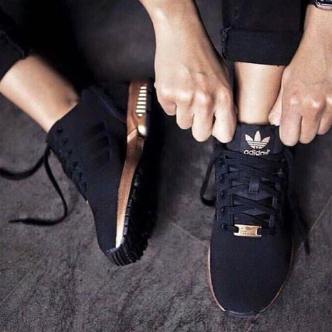 Diese hier - (Schuhe, adidas, flux)