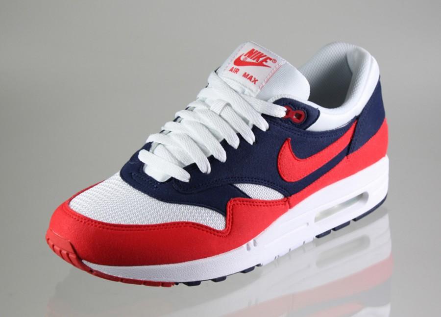 air max 1 blau rot weiß