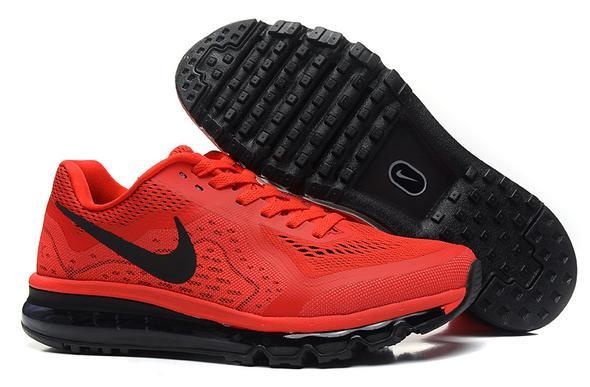 Neueste Nike Air Max 2014 Schwarz Rot