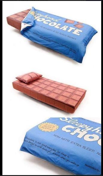 wo gibt es diese bettw sche bild schokolade. Black Bedroom Furniture Sets. Home Design Ideas