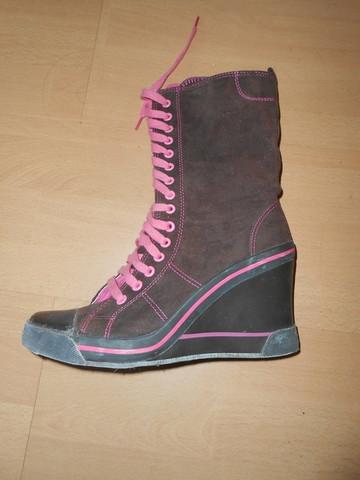 Doodogs Wedge-Sneaker - (Sneaker, Stiefel, Keilabsatz)