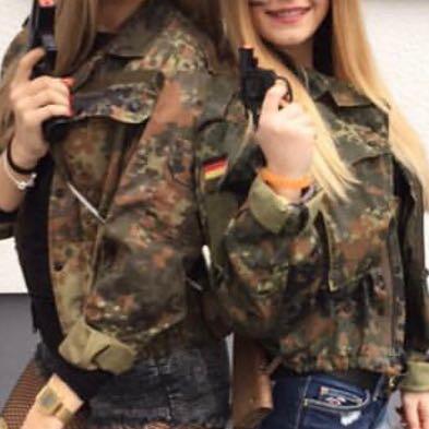 militär jacke damen fasching