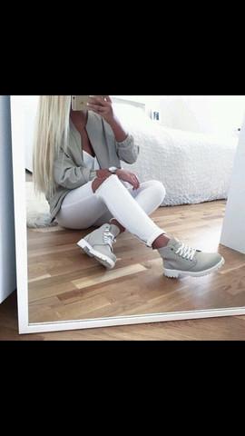 Diese meine ich - (Schuhe, Timberland)