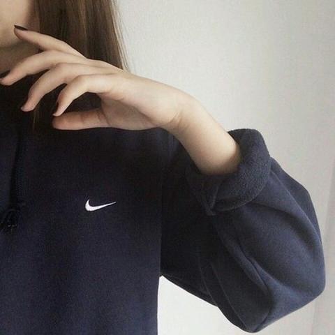 Nike Pullover - (Nike, schwarz, Pullover)