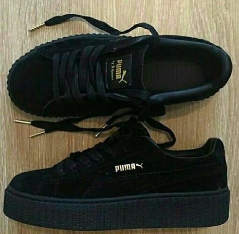 best service 6ed5a effc7 Wo gibt es noch Puma Rihanna Creeper Schuhe? (kaufen, online ...