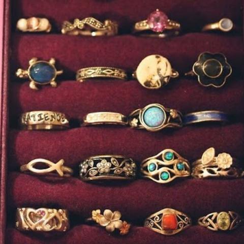 Ringe  - (Ring, Armband, Vintage)