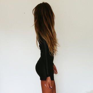 Kleines schwarzes - (Kleid, schwarz, hauteng)