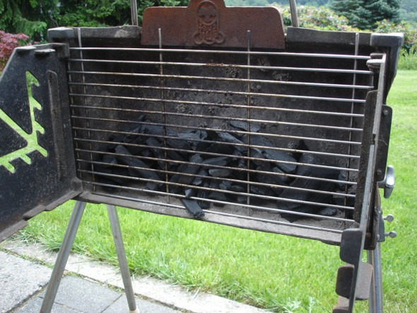 aussenkche grill simple balkon grill elektro bbq elektro. Black Bedroom Furniture Sets. Home Design Ideas