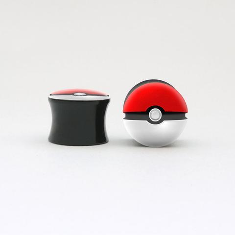 pokeball plugs  - (plugs, Pokeball)