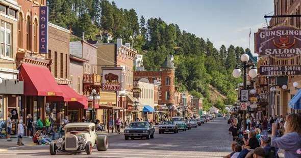 """Wo in den USA gibt es solche alten """"Main Street"""" Cities?"""