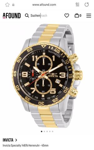 Wo in Düsseldorf Uhrladen gibt es diese Uhr von Invicta?