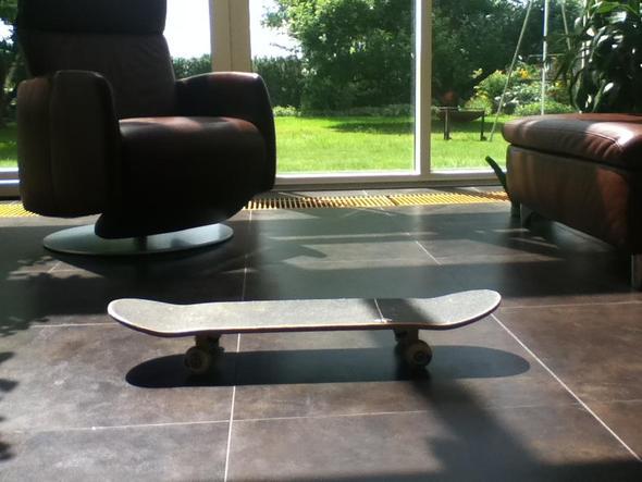 Von der Seite - (Sport, Skateboard)