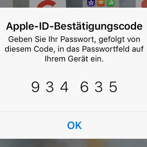 Wo muss ich den code auf mein macbook eingeben? - (Apple, MacBook)