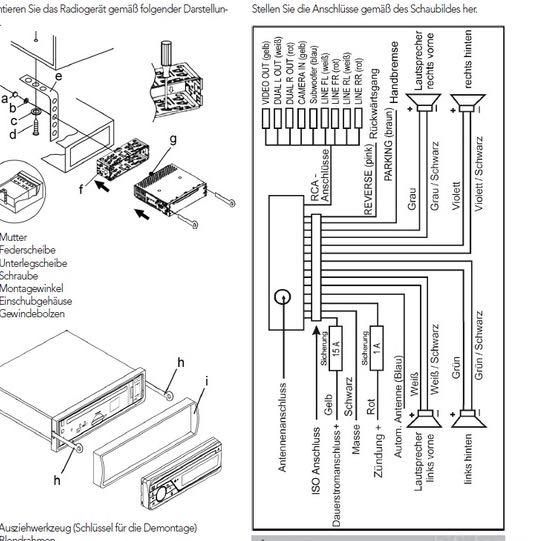 wo ist das subwoofer remote kabel   auto  autoradio  endstufe