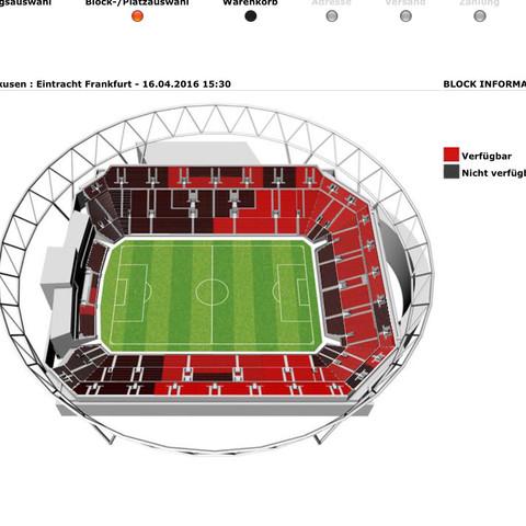 Wo Ist Der Beste Platz Fussball Karten Ticket