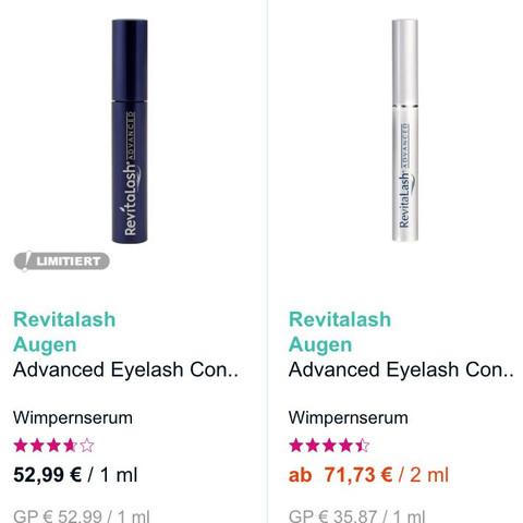 Blaue und weiße Serum - (Pflege, Kosmetik, Unterschied)