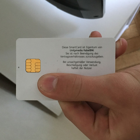 Die smartcard  - (Samsung, Sky, Smart TV)