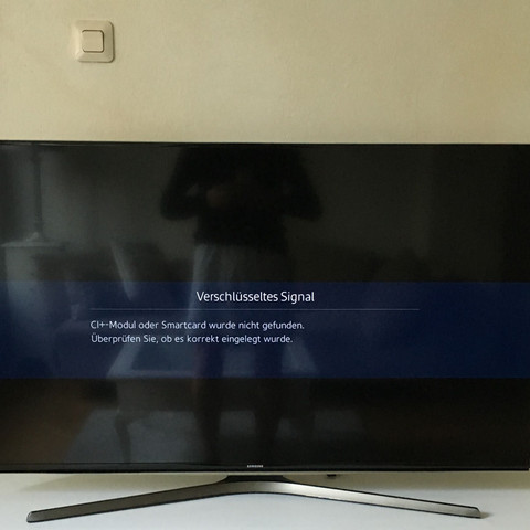 Bin vorne  - (Samsung, Sky, Smart TV)