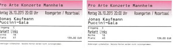 Konzertkarten - (verkaufen, Karten, Ticket)