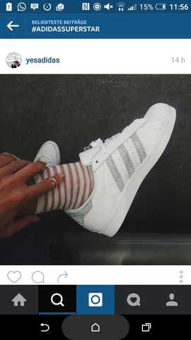 Das sind sie - (Schuhe, adidas, Superstar)