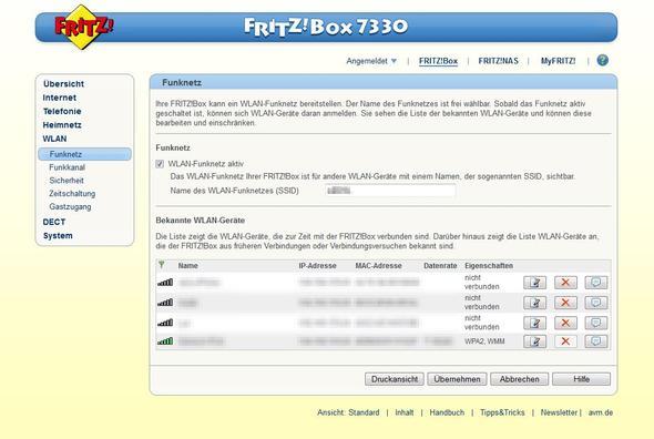 Wo kann ich bei meiner fritz box den mac filter aktivieren - Fritzbox 7330 login ...