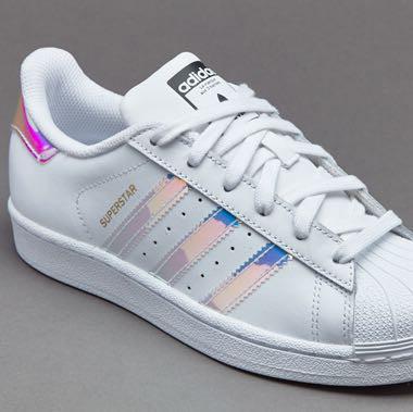 Adidas Superstar Metallic Blau