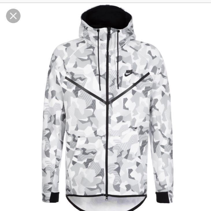 Wo kann ich die Jacke kaufen oder bestellen? (Mode, Nike, weiß)
