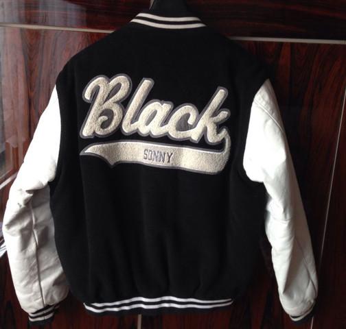 Jacke hinten  - (Mode, Rap, Jacke)