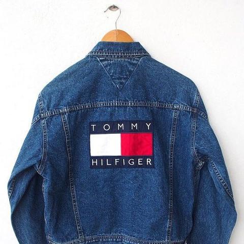 huge selection of a4c28 153ee Wo kann ich diese jeans jacke finden? (Tommy Hilfiger ...