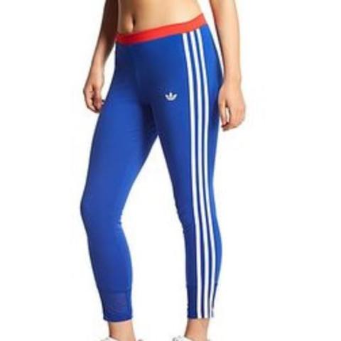 Adidas blau rot  - (tanzen, rot, adidas)