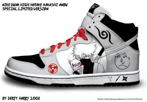 Naruto Schuh - (Anime, Schuhe, Nike)