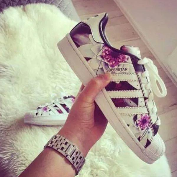 adidas superstar damen muster
